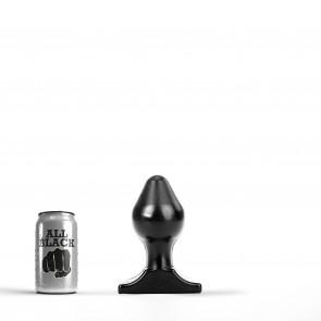 ALL BLACK Butt Plug AB72, 16 cm (6,25 in)