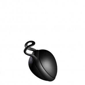 JoyDivision Joyballs Secret Single, Love Ball, Silikomed, Deep Black, 6 cm (2,4 in), Ø 3,7 cm (1,4 in)